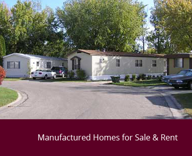 manufactured homes for sale & rent